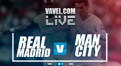 Resultado Manchester City x Real Madrid na Champions Cup (4-1)