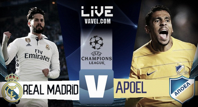 Terminata Real Madrid - APOEL, LIVE Champions League 2017/18 (3-0): Ronaldo x2, poi Ramos