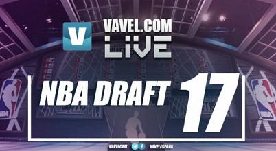 Draft NBA 2017 en vivo en tiempo real