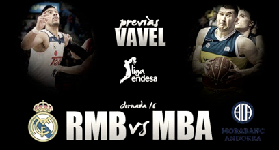 Previa Real Madrid - MoraBanc Andorra: continuar con la inercia