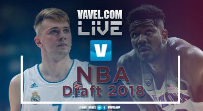 Resumen Draft NBA 2018 selecciones 1 al 14