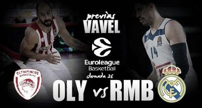 Previa Olympiacos - Real Madrid: duelo de sensaciones sin presión