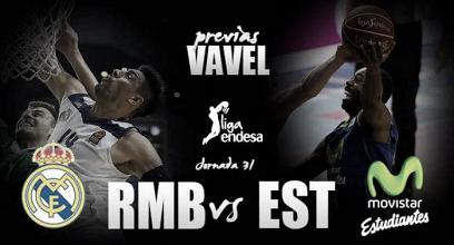 Previa Real Madrid vs Movistar Estudiantes: Ahora toca la liga