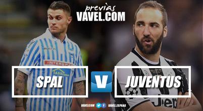 Previa Spal - Juventus: el descenso frente al Scudetto