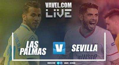 Resumen UD Las Palmas 1 - 2 Sevilla FC en la Liga 2018