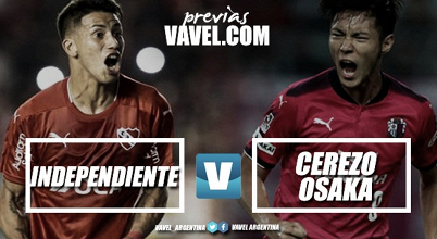 Previa Independiente - Cerezo Osaka: por la 18va