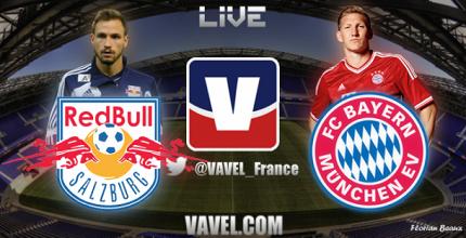Live Red Bull Salzburg - FC Bayern, le match en direct