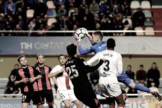 El 1x1 del Huesca en Reus