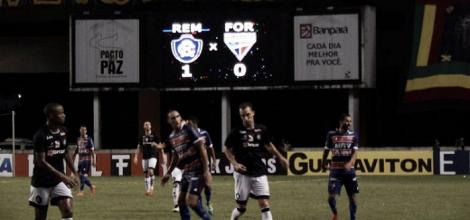 Remo vence Fortaleza em jogo pouco movimentado e conquista primeira vitória na Série C