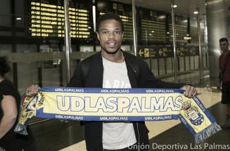 "Löic Rémy: ""Espero recuperar en Las Palmas mi máximo nivel"""