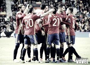 La selección española está muy cerca de un pase directo al mundial de Rusia 2018