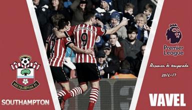 Resumen temporada 2016/17 Southampton: El crecimiento 'saint' se estanca
