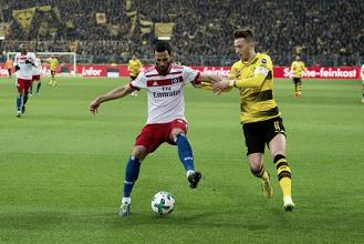No retorno de Marco Reus aos gramados, Borussia Dortmund supera Hamburgo