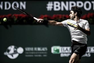 Atp Indian Wells, Federer avanti in scioltezza. Thiem k.o.