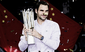 Atp Shanghai, Federer si gode il successo