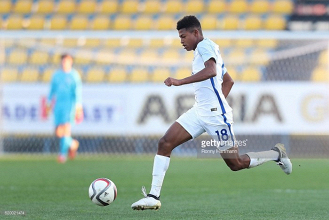 Liverpool striker Rhian Brewster scores brace to begin England's World Cup campaign