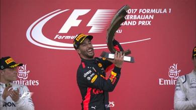 Gp Azerbaijan - Nel caos di Baku spunta Ricciardo. Vettel guadagna su Hamilton
