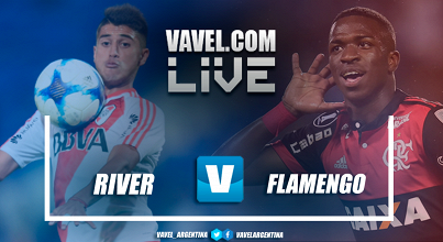 Resultado final River Plate vs Flamengo (0-0)