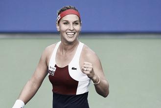 WTA Tokyo: Dominika Cibulkova eases past Carla Suarez Navarro