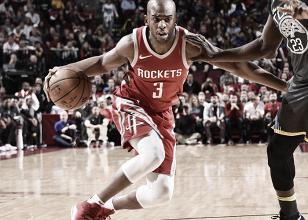 Rockets resta distancia ante Warriors