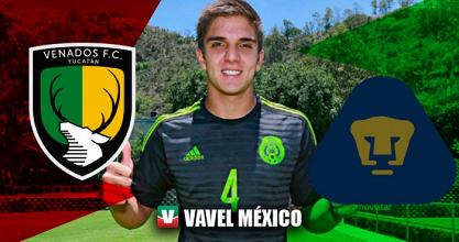 Rodrigo González, ansioso por debutar con Pumas