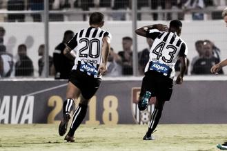 """Rodrygo vibra com seu primeiro gol como profissional: """"Estou sonhando acordado"""""""