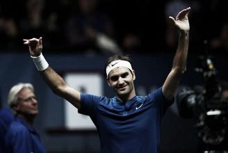Federer se impone a medio gas