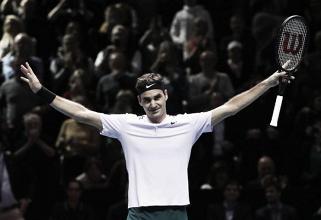 Federer pasa a semifinales con un pleno de victorias