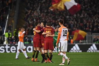 Champions League, Roma ai quarti dopo 10 anni