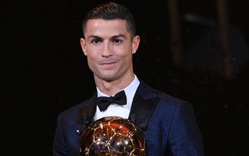 Ronaldo conquista 5ª Bola de Ouro