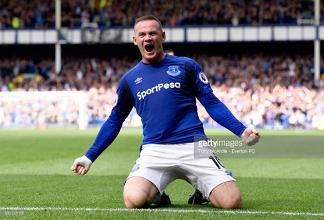 Everton 1-0 Stoke City: Wayne Rooney scores the winner on league return to Goodison Park