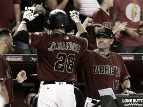 Robbie Ray fans 12; Martinez and Goldschmidt homer in Arizona Diamondbacks win