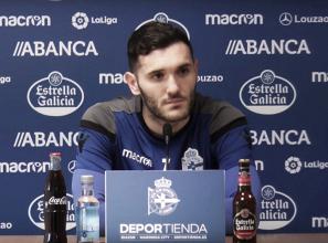 """Lucas Pérez: """"Tanto los que jugamos como los que no tenemos que sumar, no restar"""""""
