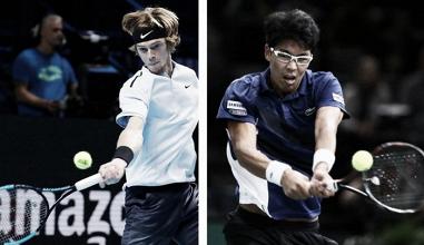 Andrey Rublev x Hyeon Chung: revelações duelam por maior título da carreira