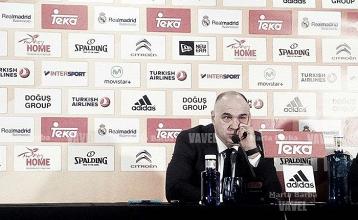 """Pablo Laso: """"No hemos tenido respuesta en el segundo tiempo"""""""