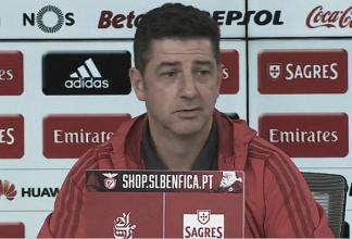 """Rui Vitória: """"Hay 3 puntos en disputa y sólo la victoria importa"""""""