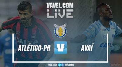 Resultado e gols Atlético-PR x Avaí pelo Campeonato Brasileiro 2017 (5-0)