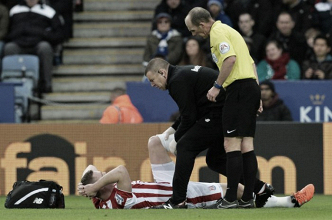 Stoke suffer injury blow as Ryan Shawcross is ruled out for up to a month