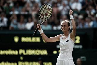 Rybarikova alarga la maldición de Pliskova en Wimbledon