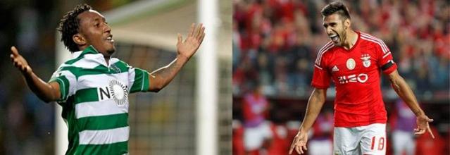 Especial Sporting x Benfica: Gelson vs Sálvio os «extremos à antiga» de hoje
