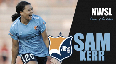 Sam Kerr named NWSL Player of the Week