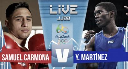 Se escapó la medalla de Samuel Carmona (3-0)