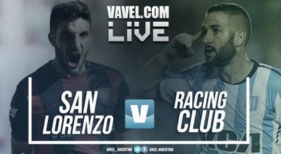San Lorenzo vs Racing en vivo y en directo online por la Superliga Argentina 2017