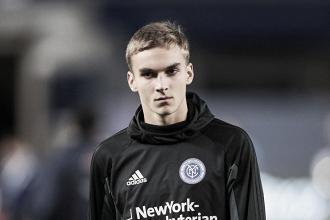 James Sands to represent NYCFC at 2018 MLS Homegrown game