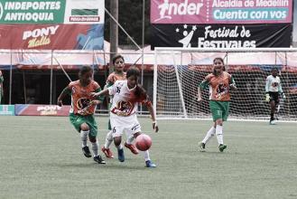 Santa Fe empató sin goles frente a Putumayo y sigue en carrera por el Ponyfútbol femenino