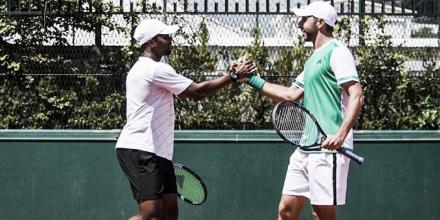 Santiago González hace historia en Roland Garros