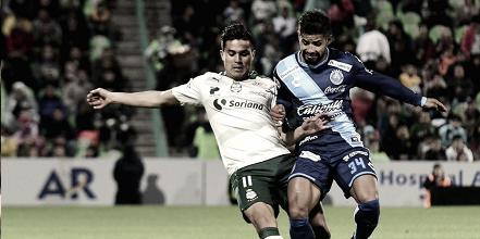 Puebla vs Santos y sus últimos encuentros