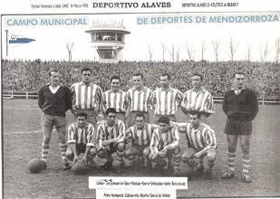 Primeras participaciones del Deportivo Alavés en Copa