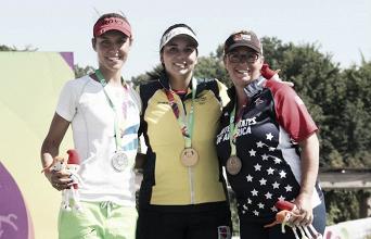 Sara López le brindó una medalla de oro a Colombia en el epílogo de los Juegos Mundiales
