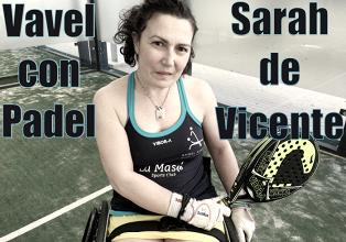 """Sarah de Vicente: """"La gente que viene a presenciar un partido, se queda impresionada por el espectáculo que ofrecemos"""""""